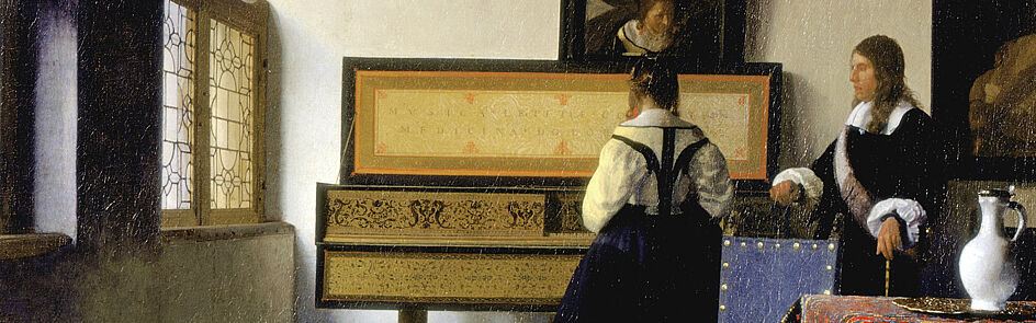 Jan Vermeer, Die Musikstunde | Royal Collection (London)